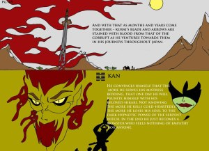 A preview from Alton Taylor's The Serpent Samurai
